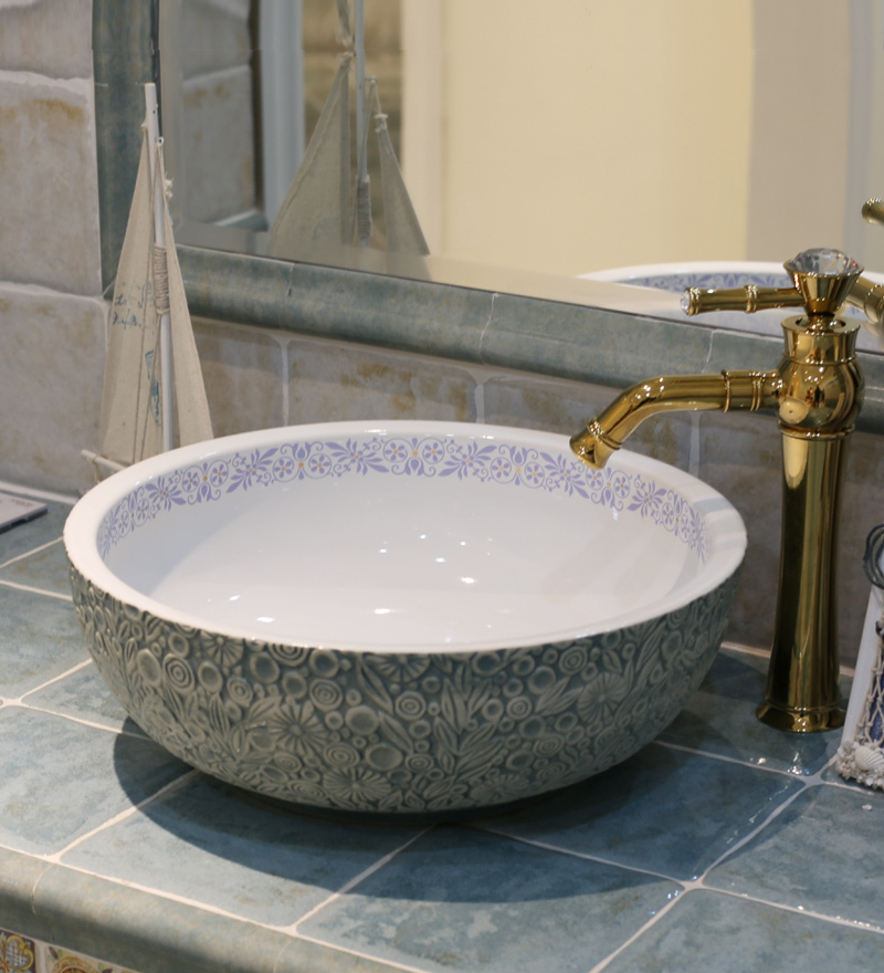 lavello bagno ciotola vintage