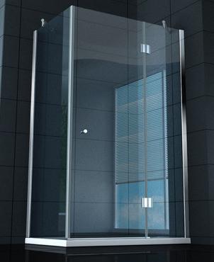 Semplice e economico il box doccia di casa mia for Arredo bagno semplice