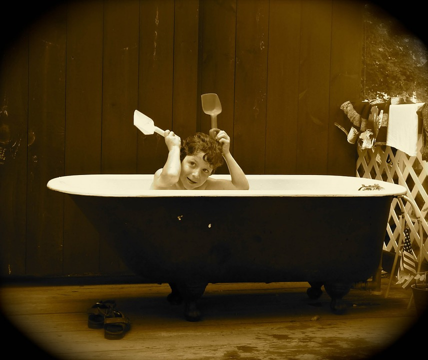 Arredo bagno vintage for Accessori bagno vintage