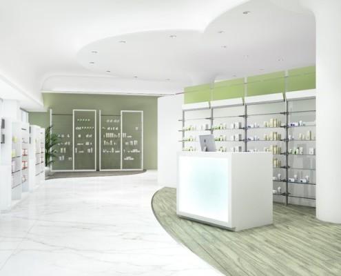 arredamento farmacia italiana